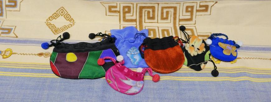 Bag of silk