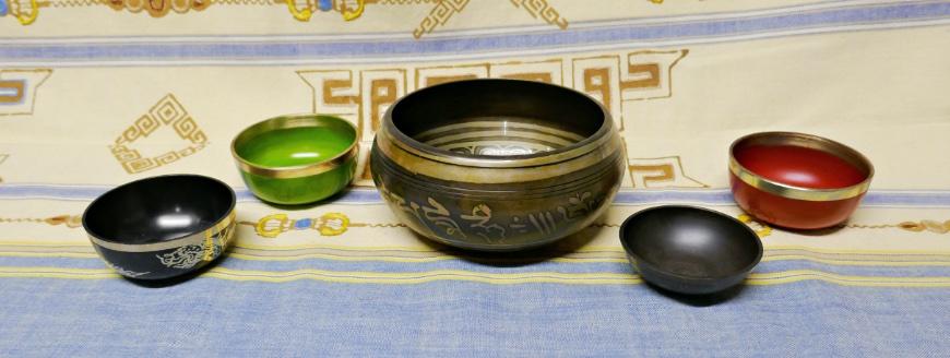 New singing bowls