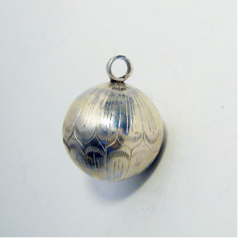 Pendant - Silver Klingkugel Lotus 32 mm