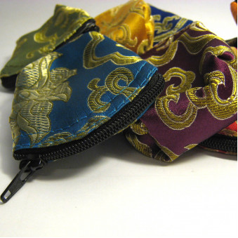 Brocade - bag M, with zipper