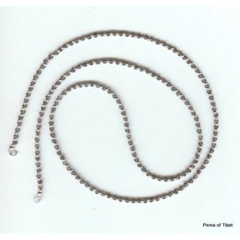 Necklace strand 80 cm rose quartz