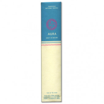 Faircense Faircense incense sticks Aura-Frankincense / Maddipal 100% natural ingredients and pure essences, manually rolled using Masala method, Auroville India
