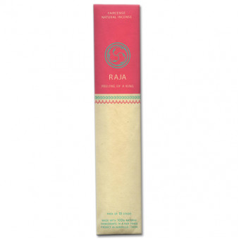 Faircense Faircense Incense Raja-Cinnamon-Tangerine 100% natural ingredients and pure essences, hand-rolled using Masala method, Auroville India