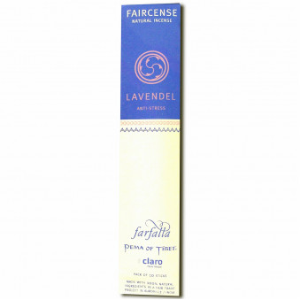 Faircense Faircense Incense Lavender 100% natural ingredients and pure essences, hand-rolled using Masala method, Auroville India