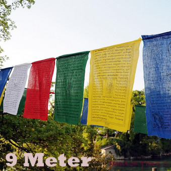 Prayer flags Prayer flags 9 meters