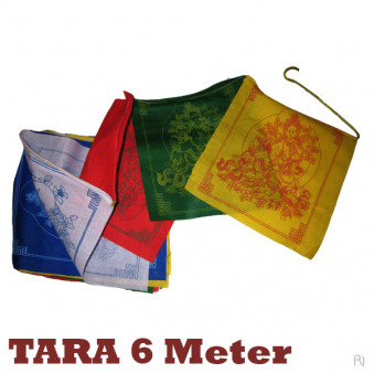 Prayer flags TARA 6 meters
