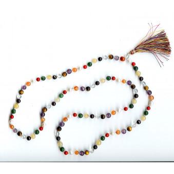 Prayer beads Chakra stones