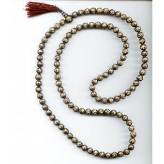 OM Prayer Beads Seashell - OM XL