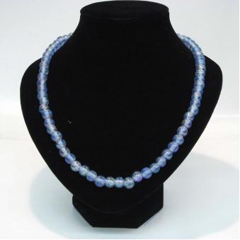 Glass strands glass strand blue transparent
