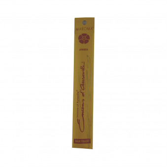 Enclos d'Auroville Encens d'Auroville Incense Amber contains exquisite natural ingredients and essences, rolled by hand, Auroville India