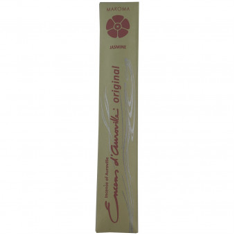 Encens d'Auroville Encens d'Auroville Incense Jasmine contains exquisite natural ingredients and essences, rolled by hand, Auroville India