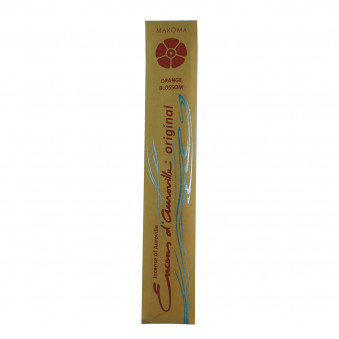 Encens d'Auroville Encens d'Auroville Incense Orange blossoms contain exquisite natural ingredients and essences, rolled by hand, Auroville India