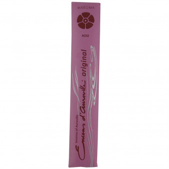 Encens d'Auroville Encens d'Auroville Rose Incense contains exquisite natural ingredients and essences, rolled by hand, Auroville India