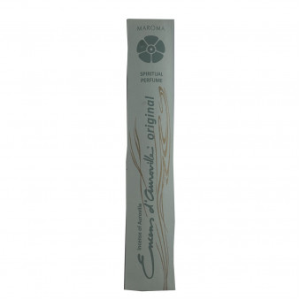Encens d'Auroville Encens d'Auroville Incense Sticks Snow Musk contain exquisite natural ingredients and essences, rolled by hand, Auroville India