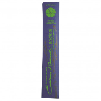 Encens d'Auroville Encens d'Auroville Incense Roses Lavender Rosemary contains exquisite natural ingredients and essences, rolled by hand, Auroville India