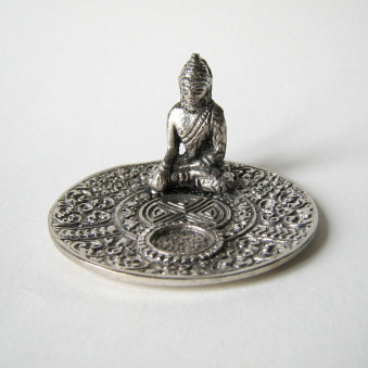 Incense Stand Dish with Buddha