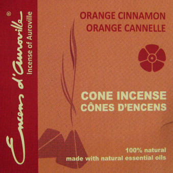 Pyramids orange cinnamon
