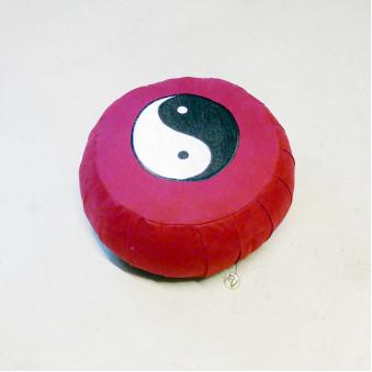 Meditation Cushion, Ylang Ylang, wine red