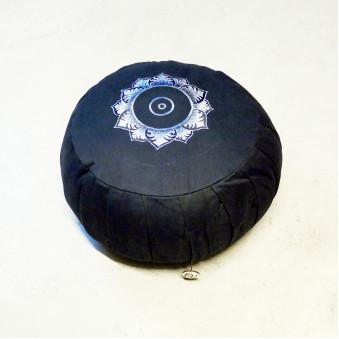 Meditation Cushion, Lotus, black