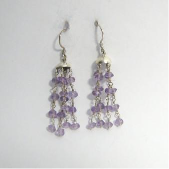 Earrings - Silver 4 pendant