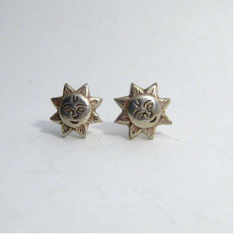Stud earrings sun studs