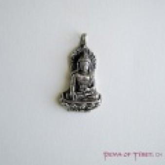 Pendant - Silver L, Buddha