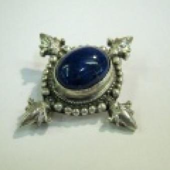 Brooch - silver double - Dorje