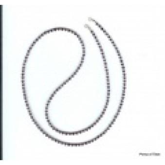 Necklace strand 80 cm Ametyst