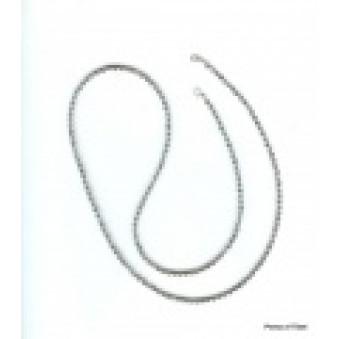 Necklace strand 80 cm labradorite