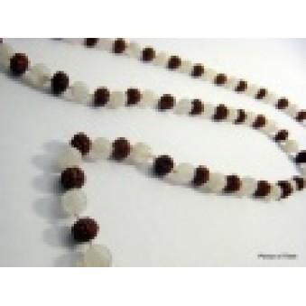 Prayer beads Mala with MS Rudrakhasha fruit