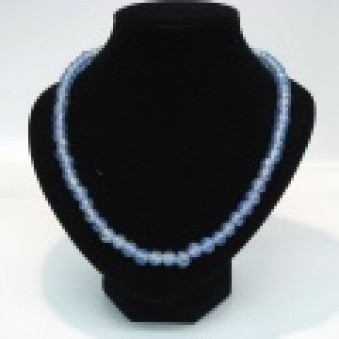 Glass strands glass strand blue transparent