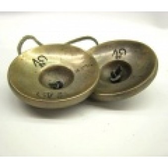Sound, cymbals with OM writing