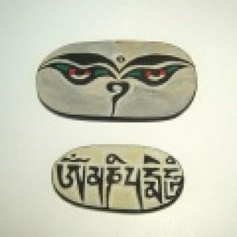 Meditation Mani stone