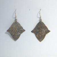 Earrings Celtic-shape trapeze M