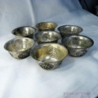Sacrificial Bowls Sacrificial Bowls Set with Lucky Symbols M