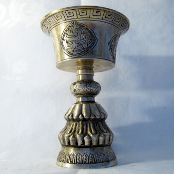Butter lamp butter lamp carved M