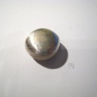 Silver parts, brushed 20 x 19 mm