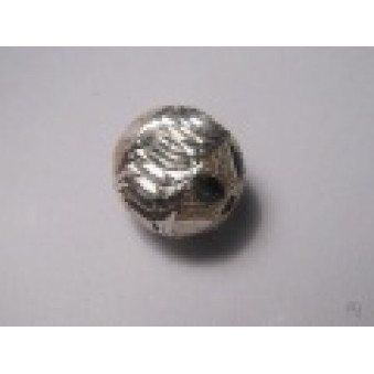 Silver parts, brushed ball 10 mm