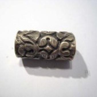 Silver parts, carved, roller roller, 32 mm