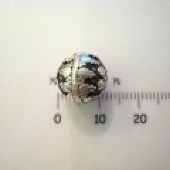 Silver parts, ball sphere, Ø 11 mm