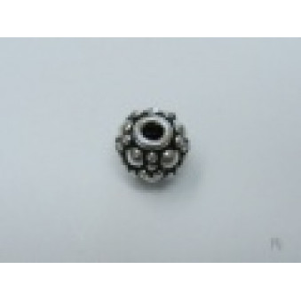 Silver parts, ball ball, Ø 6 mm