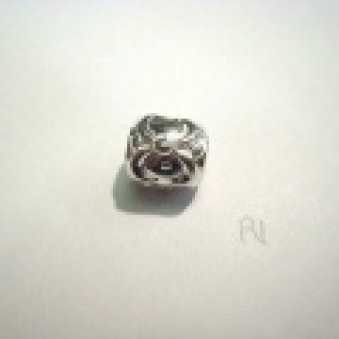 Silver parts, slightly decorated 10 mm