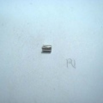 Silver parts, polished roller 3 x 2 mm