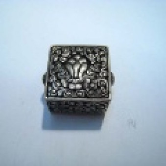 Silver parts, Tibet style 29 x 24 mm