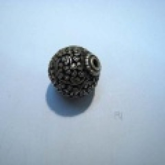 Silver parts, Tibetstyle ball, Ø23