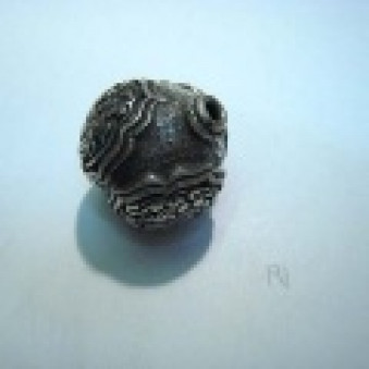 Silver parts, Tibetstyle ball Ø 25 mm