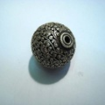 Silver parts, Tibetstyle ball Ø 31 mm
