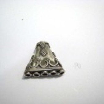Silver parts, accessories 18 x 19 mm