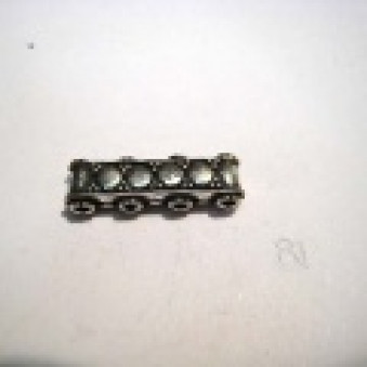 Silver parts, accessories 19 mm