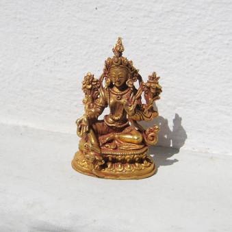 Statue Gilded Tara